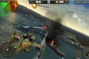 Gunship War:Total Battle 1.1.6 Apk + Mod (Unlimited Money)